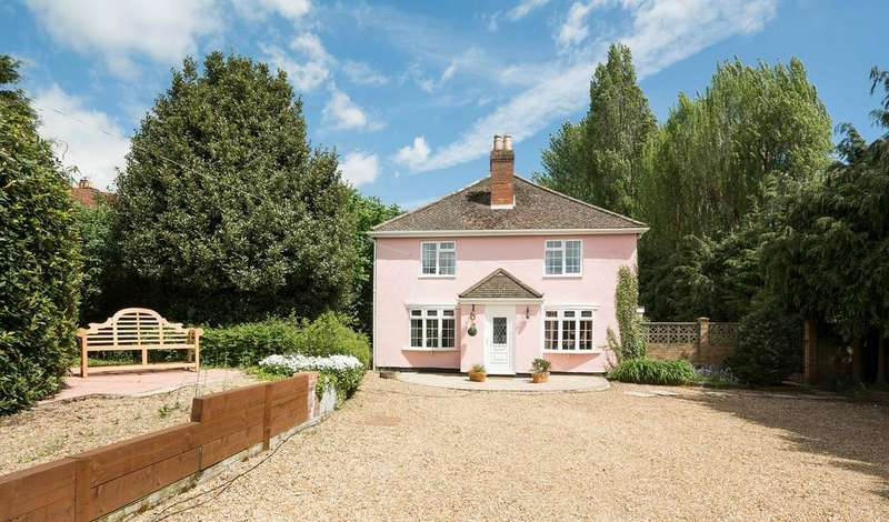 4 Bedrooms Detached House for sale in Spring Grove, School Road, Bursledon SO31