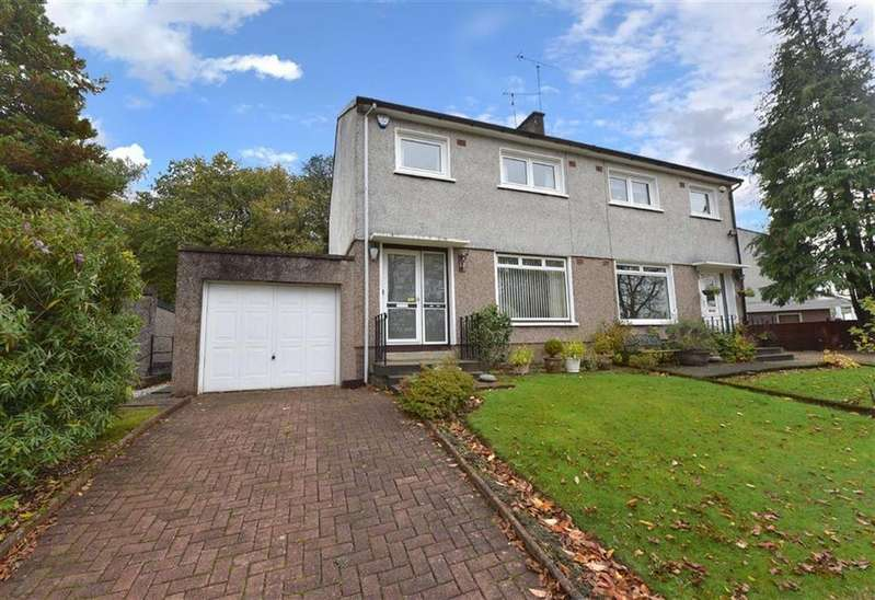 3 Bedrooms Semi Detached House for sale in Banchory Avenue, Inchinnan