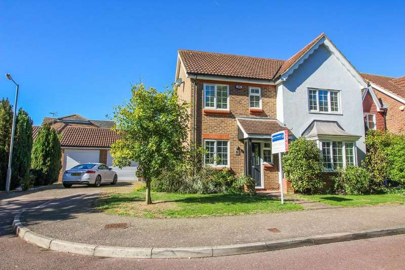 4 Bedrooms Detached House for sale in Westbury Rise, Church Langley, CM17