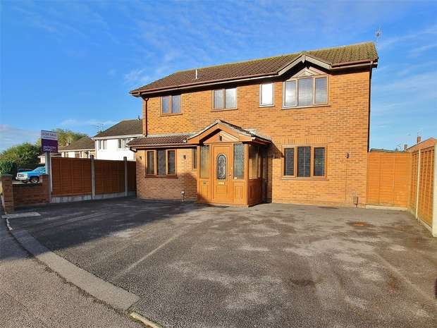 4 Bedrooms Detached House for sale in Bailey Crescent, Oakdale, POOLE, Dorset