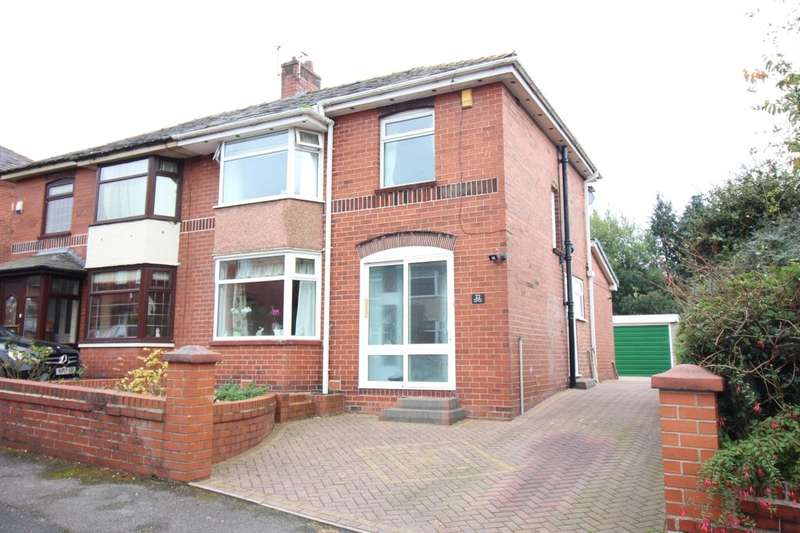 3 Bedrooms Semi Detached House for sale in Hillside Crescent, Bury, BL9