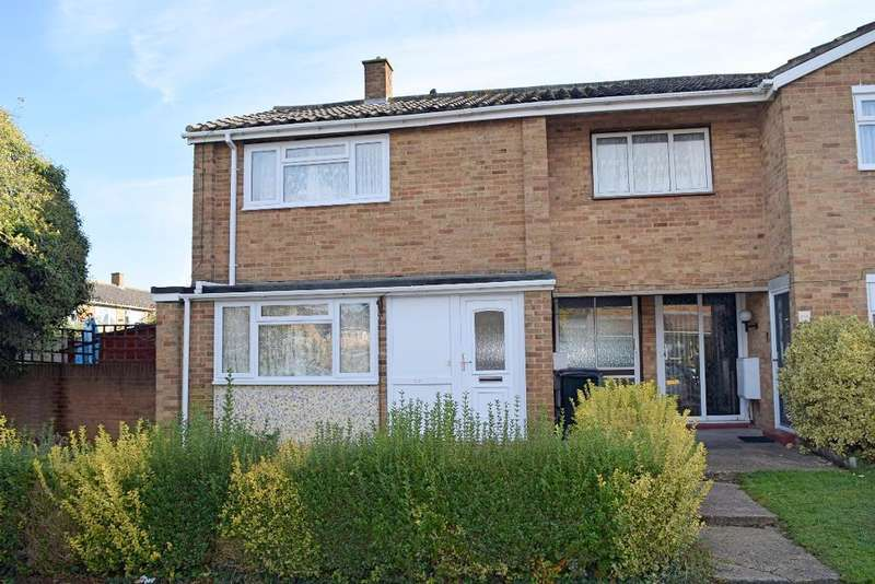 3 Bedrooms End Of Terrace House for sale in Kingsland, Harlow, Essex, CM18 6XS