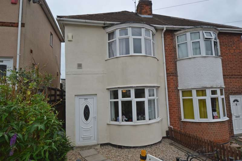3 Bedrooms Semi Detached House for sale in 23 Jean Drive, Leicester