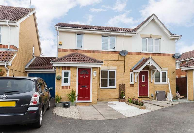 3 Bedrooms Semi Detached House for sale in Richards Way, Cippenham