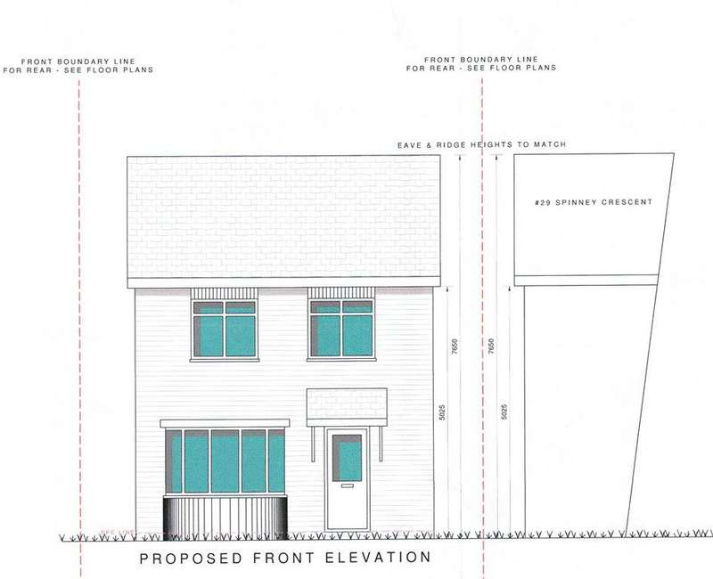2 Bedrooms Detached House for sale in Building Plot Adj. To, Spinney Crescent, Dunstable