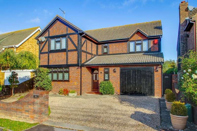 4 Bedrooms Detached House for sale in Kelly Road, Bowers Gifford