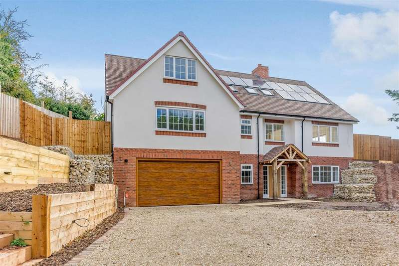 5 Bedrooms Detached House for sale in Broadwas, Worcester, Worcestershire