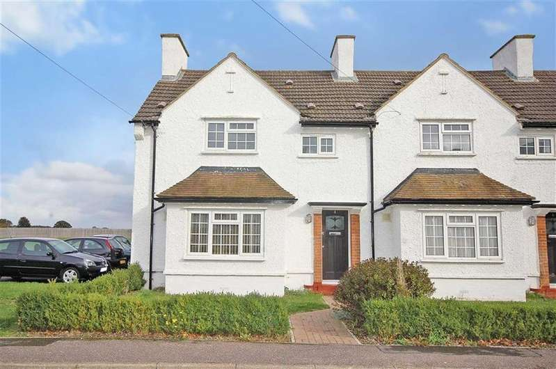 2 Bedrooms End Of Terrace House for sale in Derwent Road, Henlow, Bedfordshire