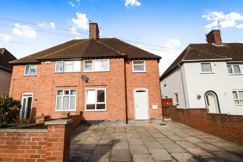 3 Bedrooms Semi Detached House for sale in Overpark Avenue, Leicester, LE3