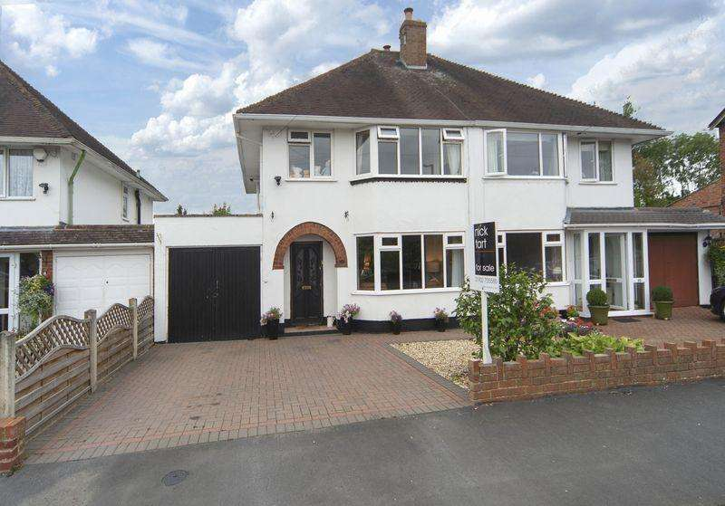 3 Bedrooms Semi Detached House for sale in Station Road, Albrighton, Wolverhampton