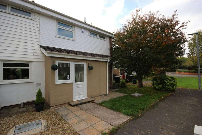 3 Bedrooms End Of Terrace House for sale in Scandrett Close, Henbury, Bristol, BS10
