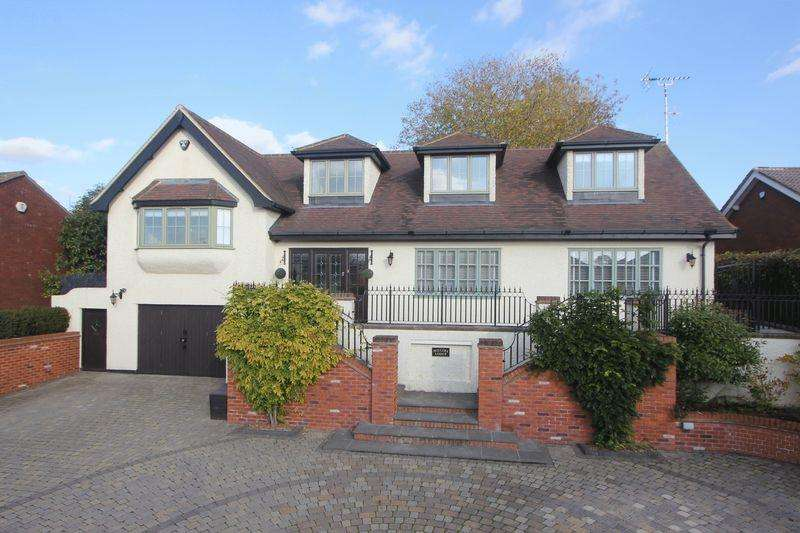 4 Bedrooms Detached House for sale in Millers Lodge, Mancroft Road, Caddington