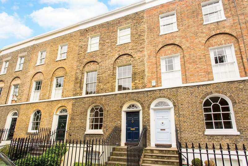 4 Bedrooms Terraced House for sale in Tredegar Square, E3