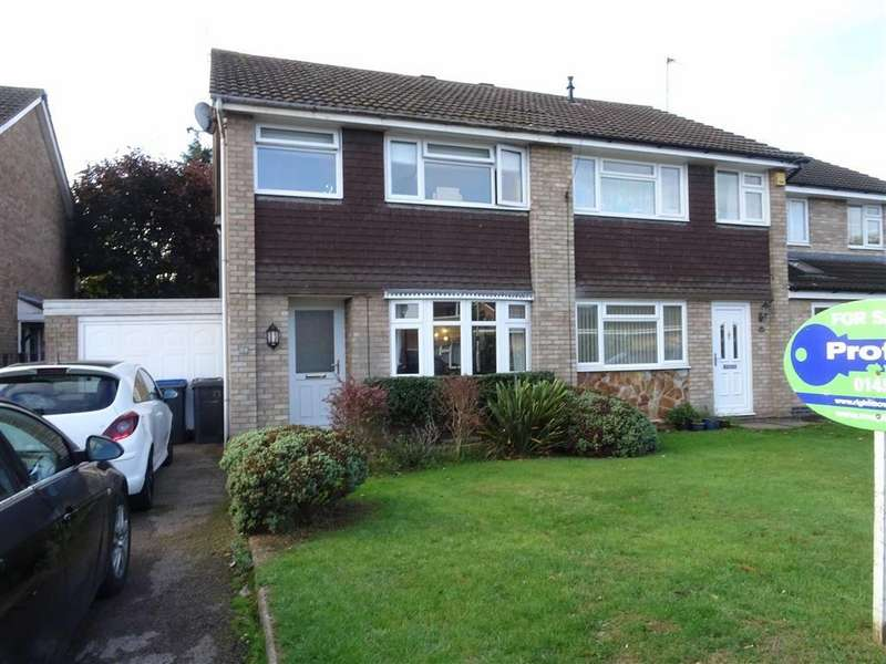 3 Bedrooms Semi Detached House for sale in Warwick Gardens, Hinckley