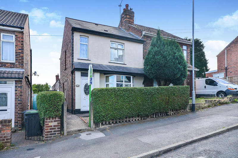 3 Bedrooms Semi Detached House for sale in Lynncroft, Nottingham, NG16
