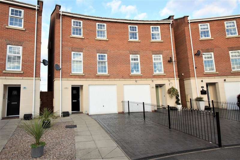 4 Bedrooms Semi Detached House for sale in Noskwith Street, Ilkeston