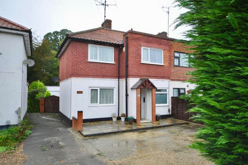 3 Bedrooms Semi Detached House for sale in Shepherds Hill, Earley, Reading, RG6 1BB