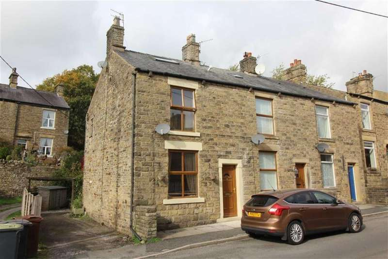 2 Bedrooms End Of Terrace House for sale in Mellor Road, New Mills, High Peak, Derbyshire