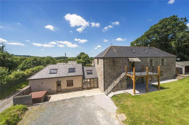 6 Bedrooms Unique Property for sale in Leat Farm, Yeolmbridge, Launceston, Cornwall, PL15