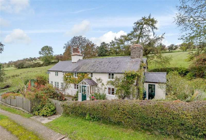 4 Bedrooms Detached House for sale in Bryn, Bishops Castle, Shropshire