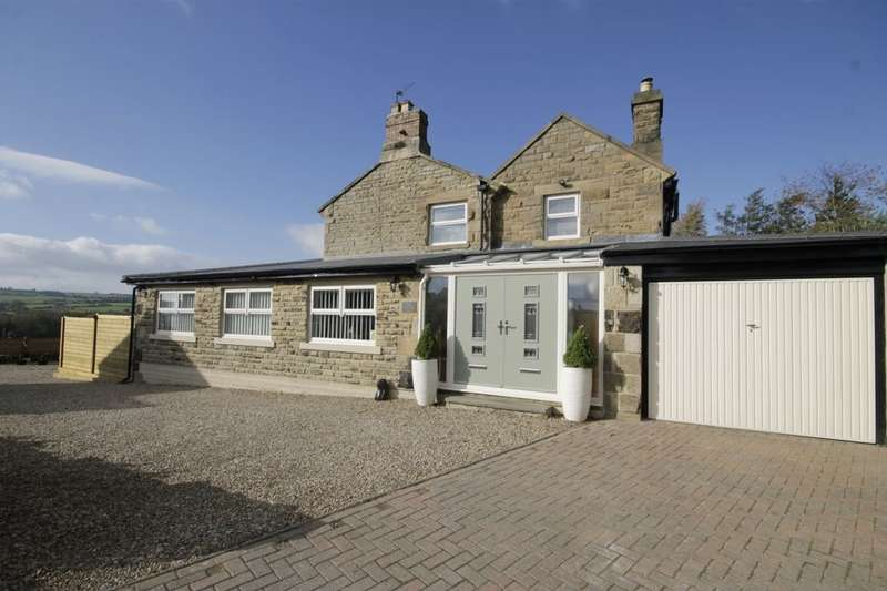2 Bedrooms Semi Detached House for sale in Hownsgill Drive, Knitsley, Consett, DH8