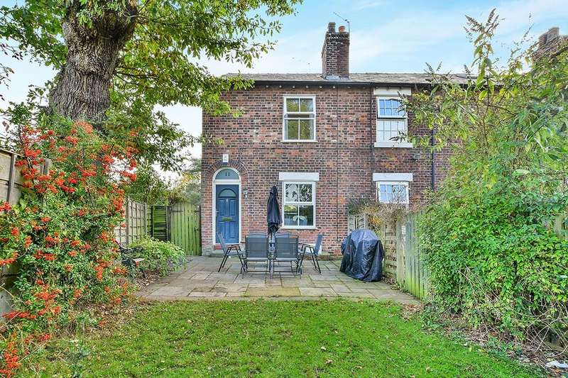 2 Bedrooms Terraced House for sale in Queens Terrace, Handforth, Wilmslow, SK9