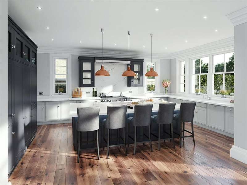 5 Bedrooms Detached House for sale in Ferndown, The Heath, Frilford Heath, Abingdon, Oxfordshire, OX13