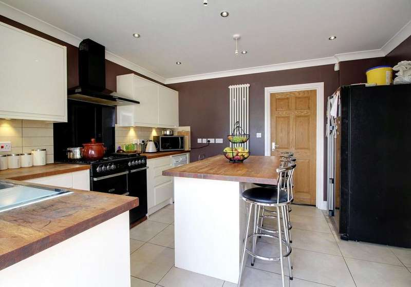 5 Bedrooms Semi Detached House for sale in Erleigh Court Gardens, Earley, Reading, Berkshire, RG6