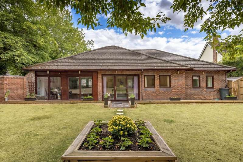 4 Bedrooms Detached Bungalow for sale in Church Close, Madeley, Telford, Shropshire, TF7 5BP