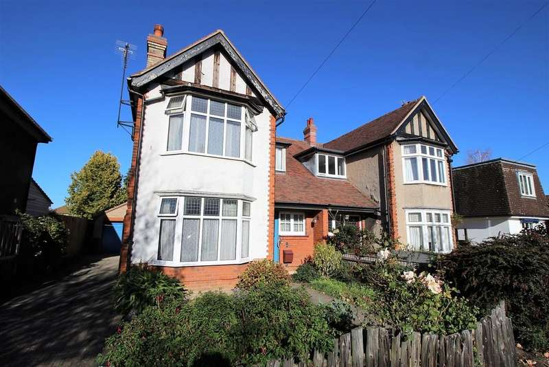 3 Bedrooms Semi Detached House for sale in Flamsteed Road, Cambridge