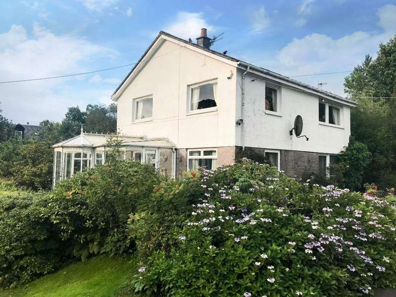 3 Bedrooms Detached House for sale in Hillhead, Whistlefield, Garelochhead, Argyll Bute, G84 0EP