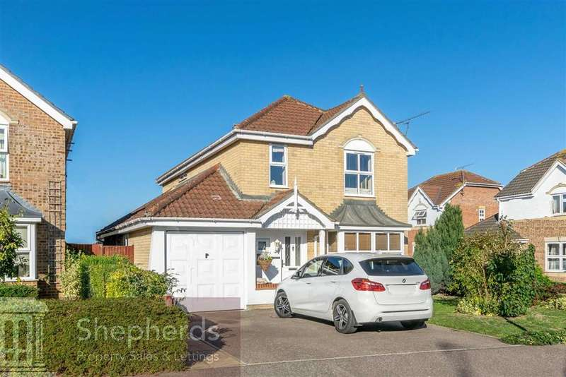 5 Bedrooms Detached House for sale in Norwood Road, Cheshunt, Hertfordshire