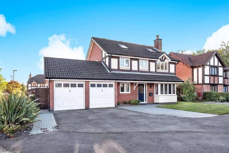 5 Bedrooms Detached House for sale in The Cornfields, Hatch Warren, Basingstoke, RG22