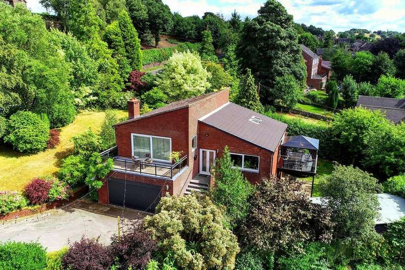4 Bedrooms Detached House for sale in Cheadle Road, Wetley Rocks, Stoke On Trent, Staffordshire ST9