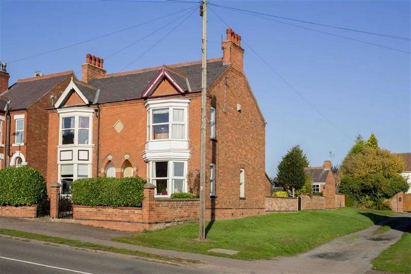 2 Bedrooms Semi Detached House for sale in Shepshed Road, Hathern, LE12