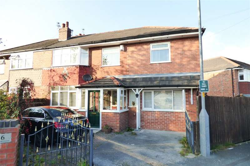 3 Bedrooms Semi Detached House for sale in Moorside Crescent, Droylsden, Manchester, Greater Manchester, M43