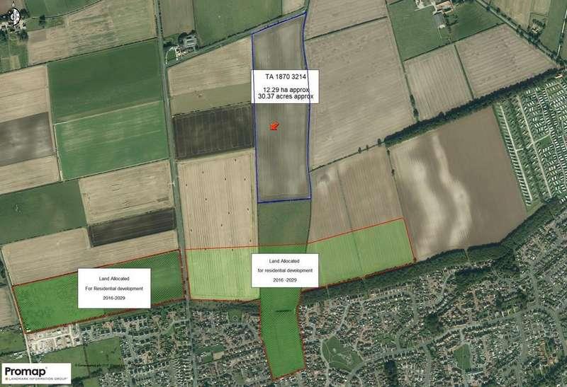 Land Commercial for sale in Land off Bempton Short Lane, Bridlington, East Yorkshire