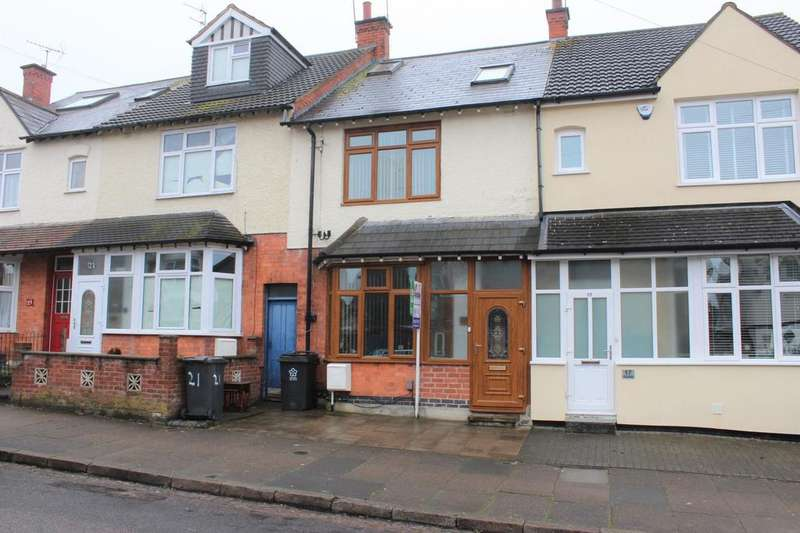 4 Bedrooms Terraced House for sale in Bodnant Avenue, Leicester, LE5