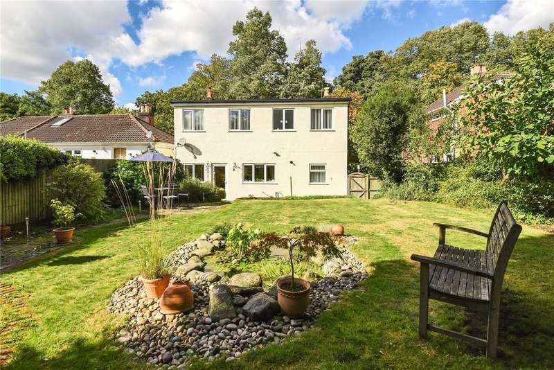 5 Bedrooms Detached House for sale in Church Road, Old Bishopstoke, Eastleigh, Hampshire, SO50