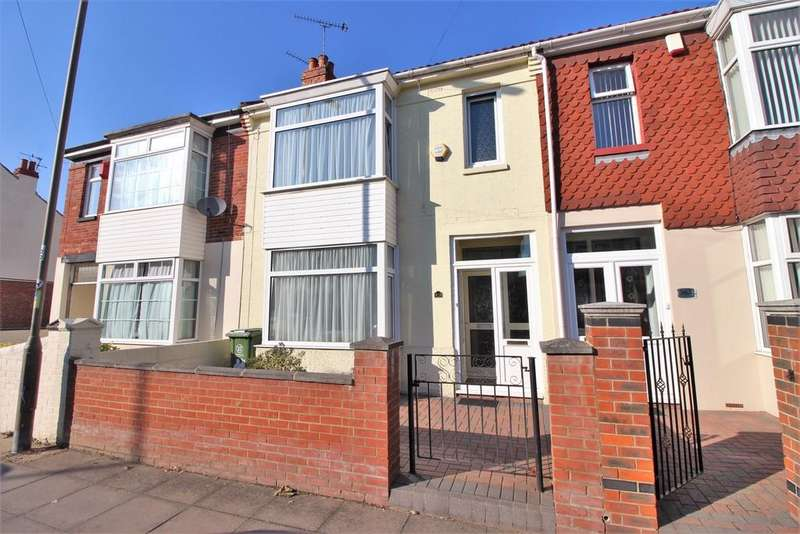 4 Bedrooms Terraced House for sale in Stubbington Avenue, North End