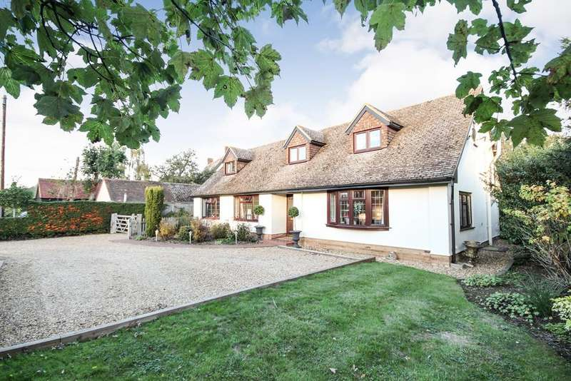 4 Bedrooms Detached House for sale in Northill Road, Ickwell, SG18