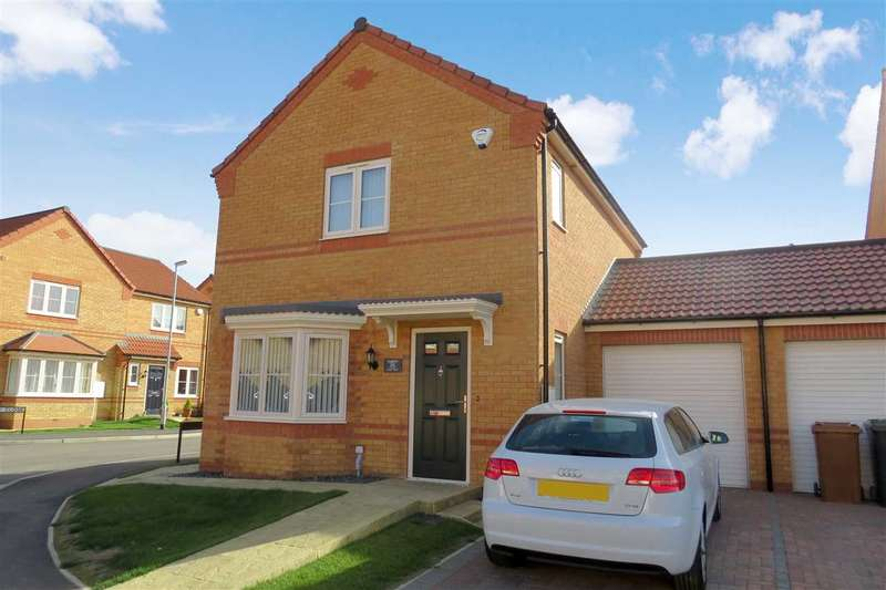3 Bedrooms Link Detached House for sale in Finch Drive, Sleaford