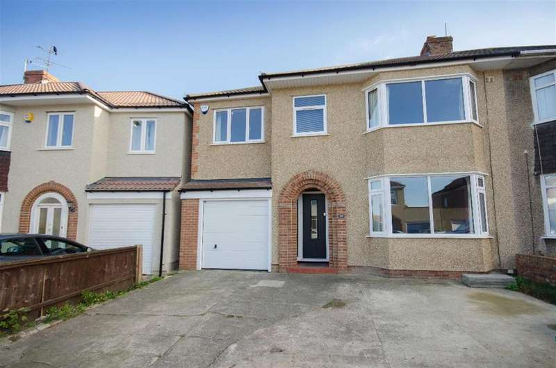4 Bedrooms Semi Detached House for sale in Fouracre Crescent, Downend, Bristol, BS16 6PS