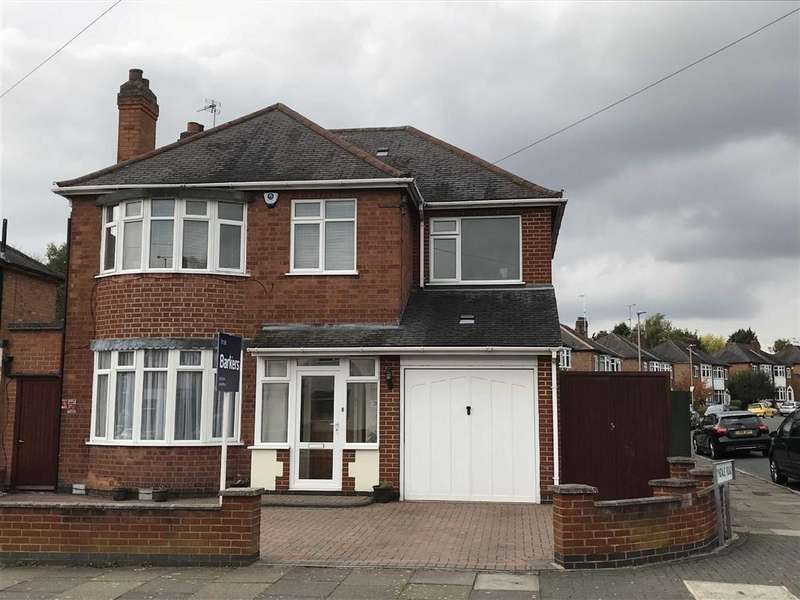 4 Bedrooms Detached House for sale in Brinsmead Road, Knighton, Leicestershire
