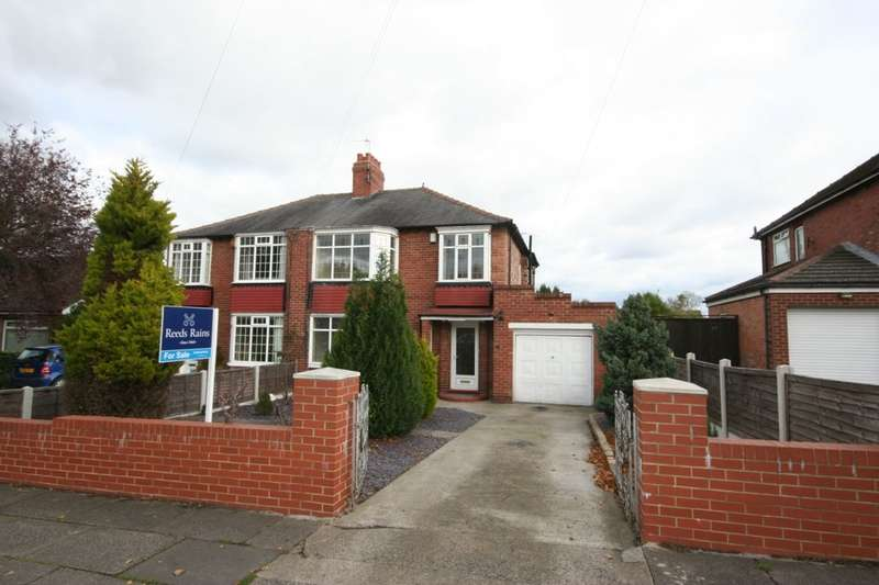 3 Bedrooms Semi Detached House for sale in Hartburn Avenue, Stockton-On-Tees, TS18