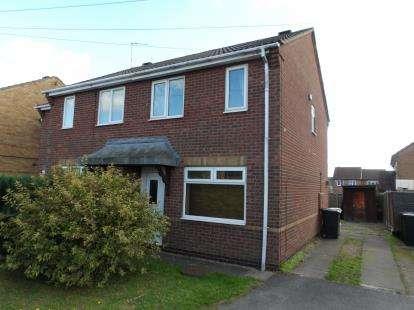 2 Bedrooms Semi Detached House for sale in Coppice Close, Ravenstone, Coalville