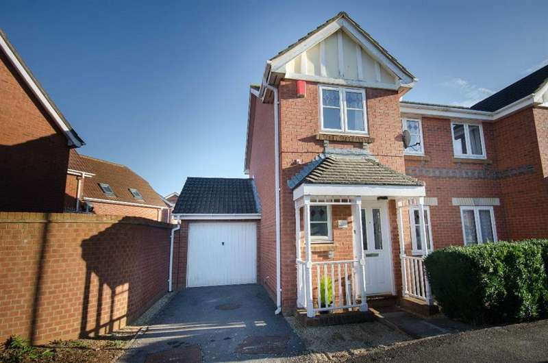3 Bedrooms Semi Detached House for sale in Emet Lane, Emersons Green, Bristol, BS16 7BX