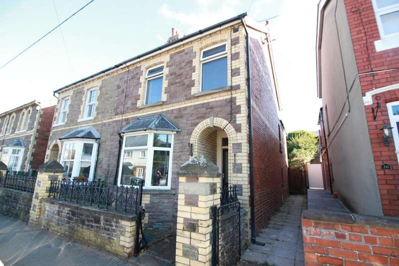 2 Bedrooms Semi Detached House for sale in Hatherleigh Road, Abergavenny, NP7
