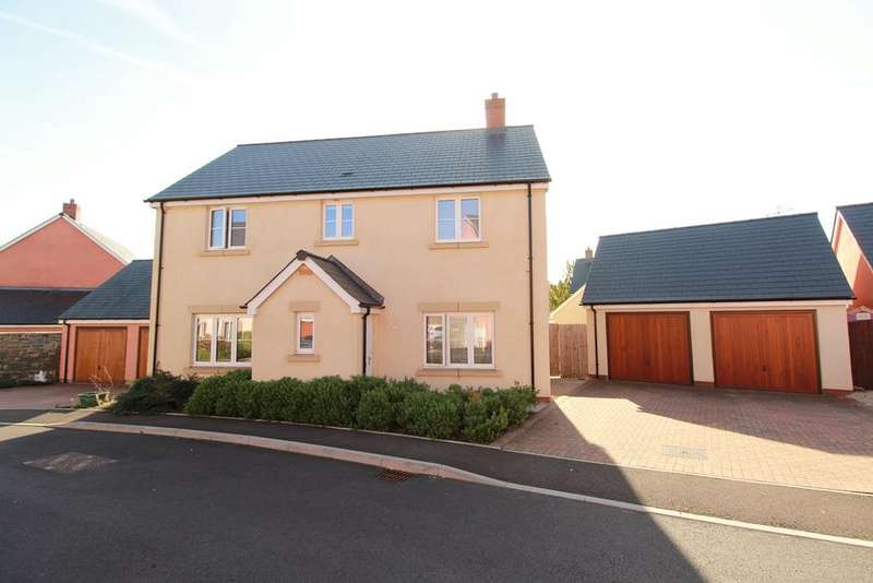 4 Bedrooms Detached House for sale in Clos Melin Coed, Little Mill, Pontypool, NP4