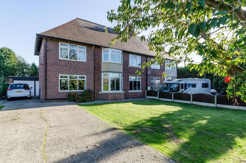 4 Bedrooms Semi Detached House for sale in Pontefract Road, Purston Jaglin, Pontefract